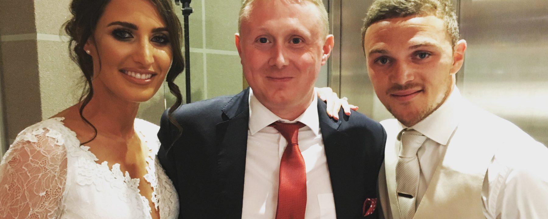 Wedding Magician for Footballer Kieran Trippier