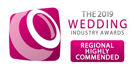 Wedding Industry Award Highly Commended 2019