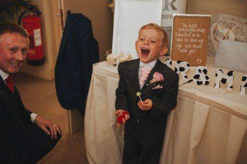 Family Wedding Magician