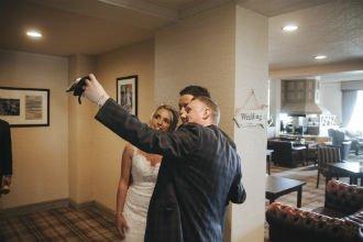 wedding-couple-selfie